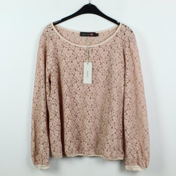 MINX Sweatshirt Gr. 40 rosa NEU (19/09/355)