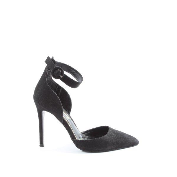 Miss Selfridge Slingback-Pumps schwarz Elegant