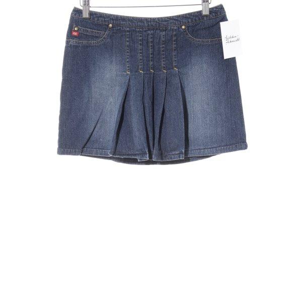 Miss Sixty Spijkerrok donkerblauw Jeans-look