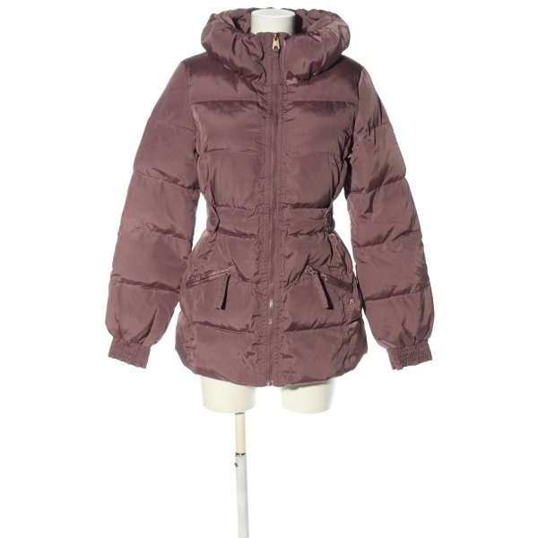Miss Sixty Steppmantel lila Steppmuster Casual-Look