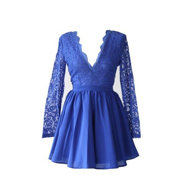 Missguided Kleid in Blau