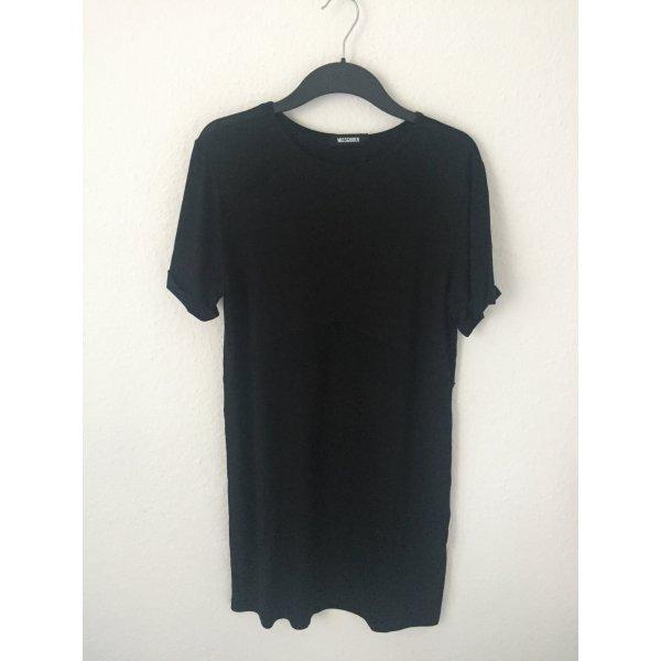 Missguided T Shirt Kleid mit transparenten Stellen