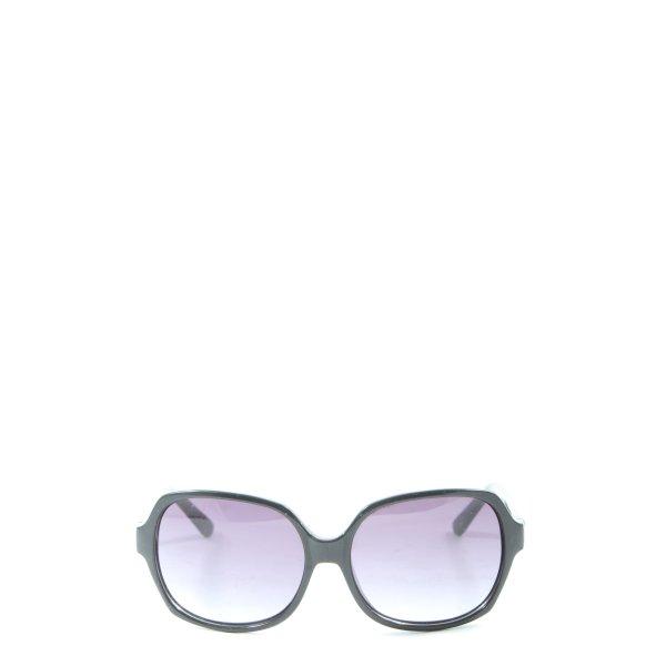 Missoni ovale Sonnenbrille schwarz Casual-Look