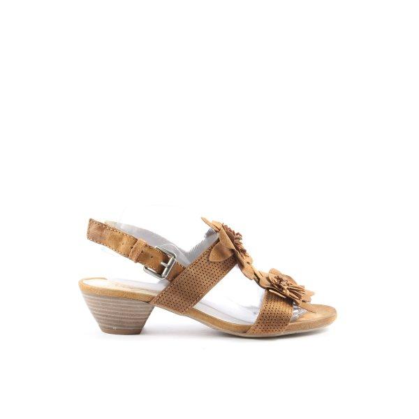Mjus Riemchen-Sandaletten braun Casual-Look