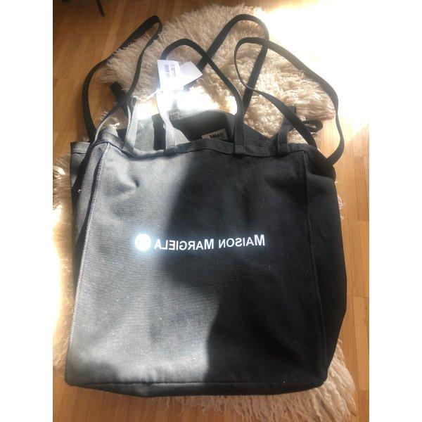 MM6 Maison Margiela Shopper mit Label-Print Schwaz NEU
