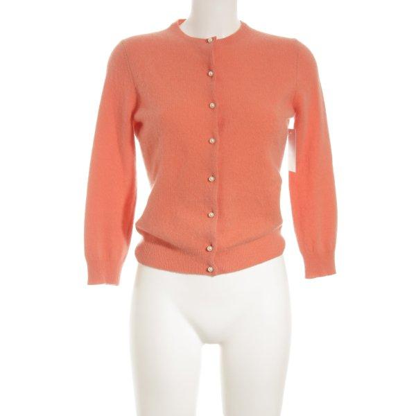 Moda International Cardigan lachs Business-Look