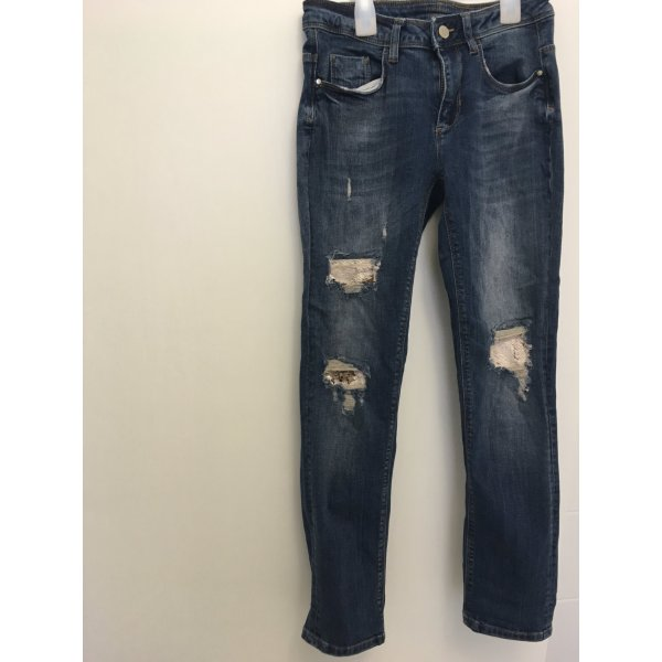 Mötivi Jeans mit Wendepailletten