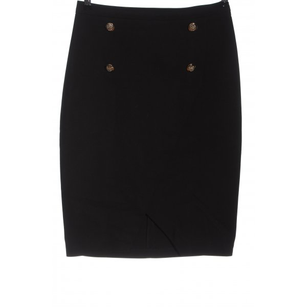 Mohito High Waist Skirt black business style