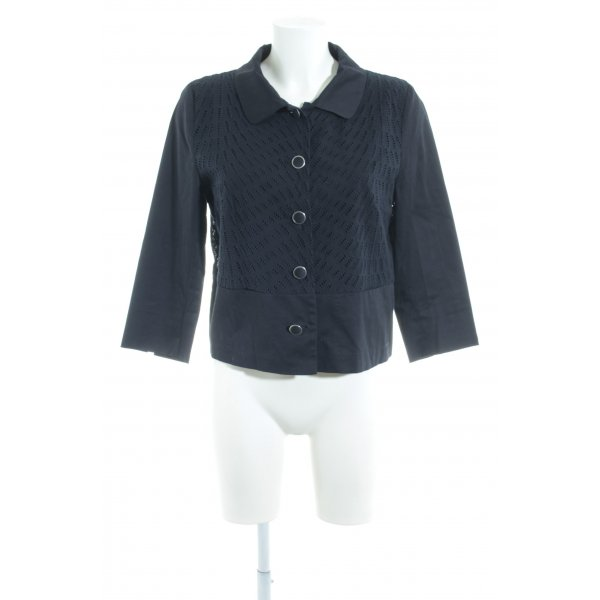 More & More Blouse Jacket dark blue casual look