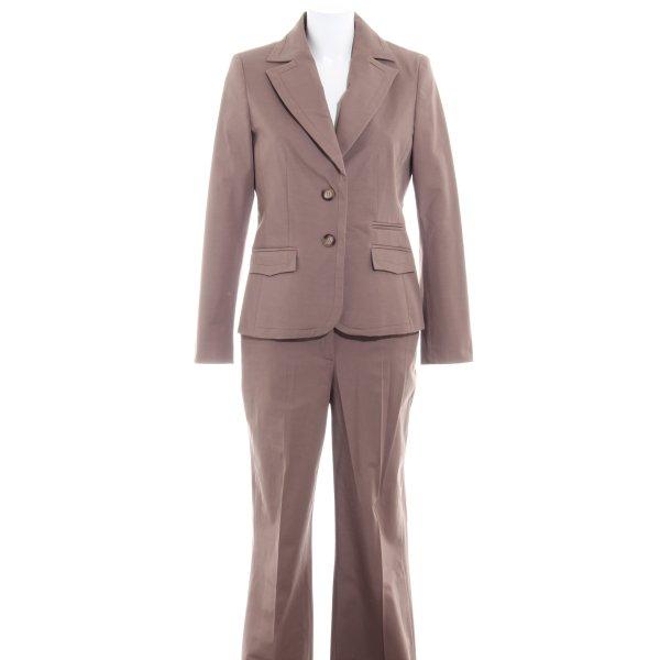 More & More Business-Anzug graubraun Business-Look