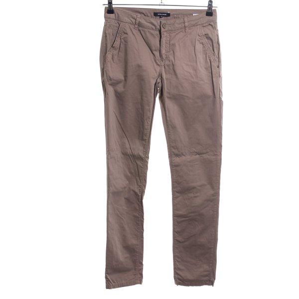 More & More Five-Pocket-Hose braun Casual-Look
