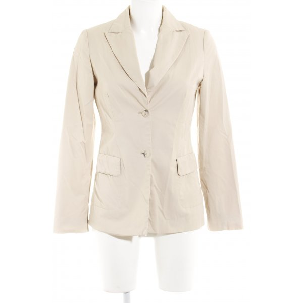 More & More Long-Blazer creme Business-Look