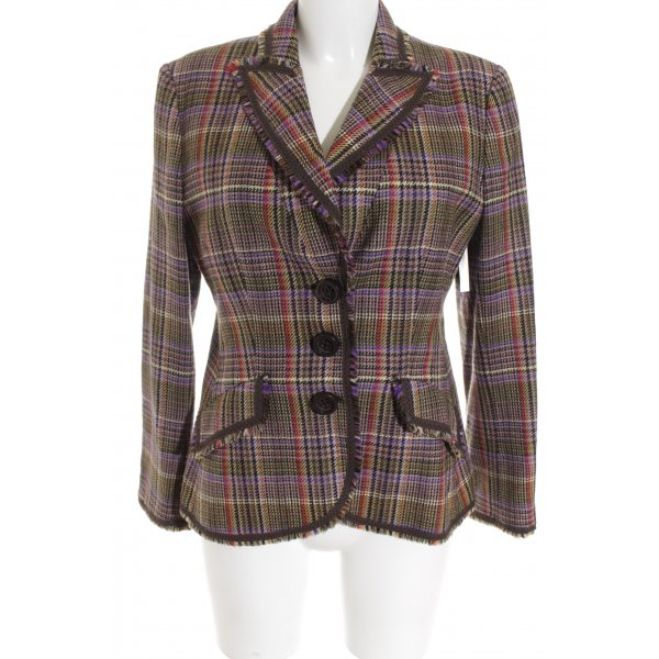 Moschino Cheap and Chic Jerseyblazer Karomuster Business-Look