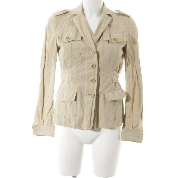 Moschino Cheap and Chic Kurz-Blazer beige Casual-Look