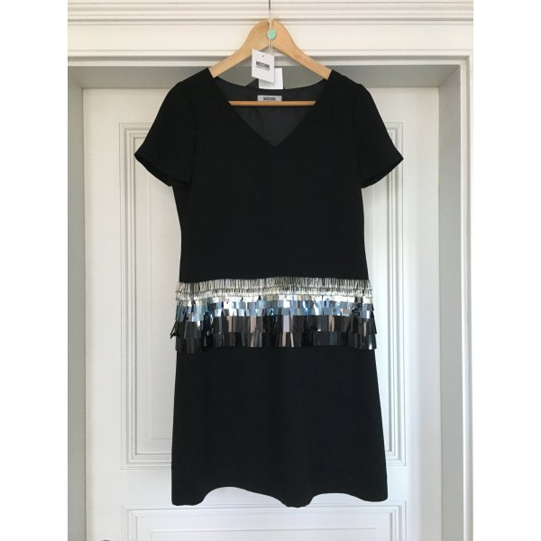 Moschino Cheap and Chic Longsleeve Dress black polyester