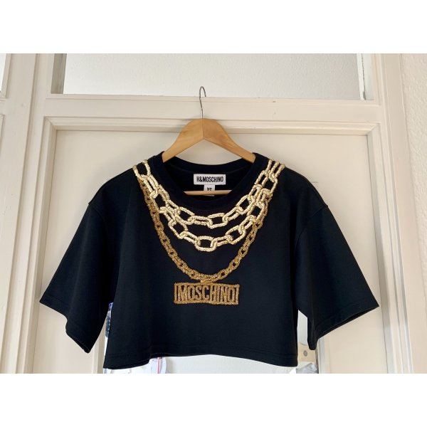 MOSCHINO cropped Top