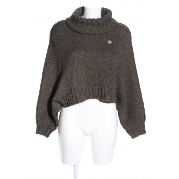 Moschino Oversized Pullover khaki Casual-Look