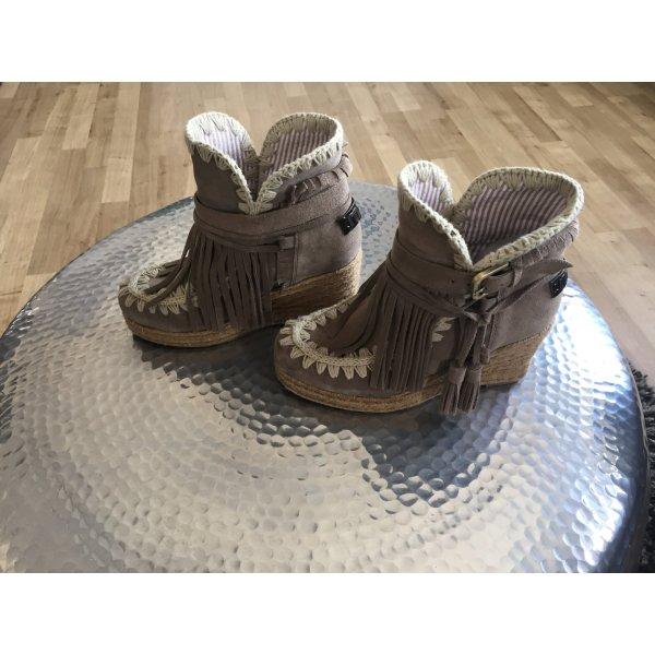Mou Stiefelette Keilabsatz Eskimo Boot