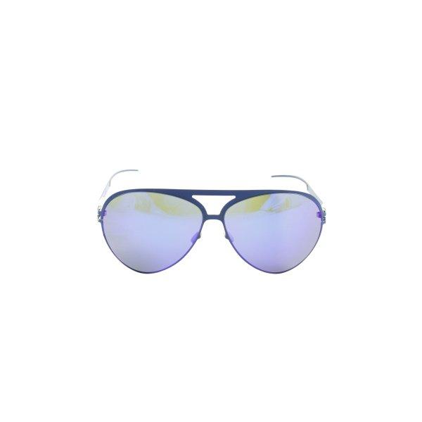 "Mykita ovale Sonnenbrille ""Colf7 Blue"""