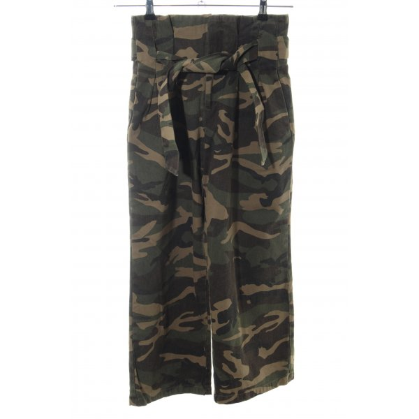 NA-KD Culottes Camouflagemuster Casual-Look