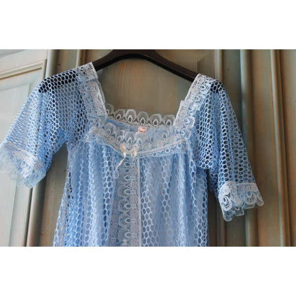 Nachthemd hellblau Gr.36