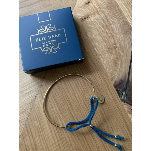 Nagelneues schönes goldenes Armband von Elie Saab