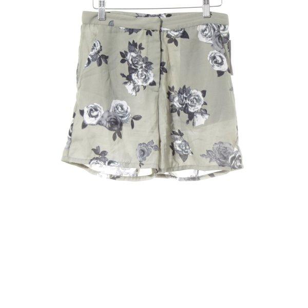 Nakd Shorts Blumenmuster Casual-Look