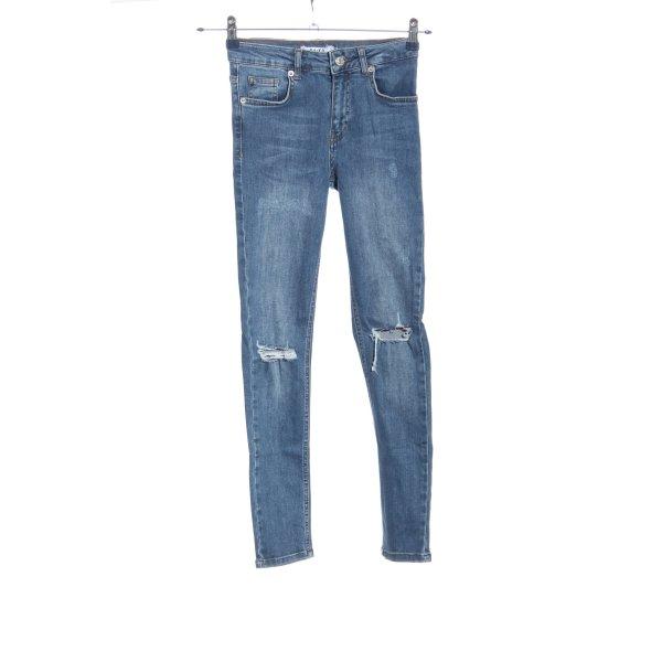 Nakd Skinny Jeans blau Casual-Look