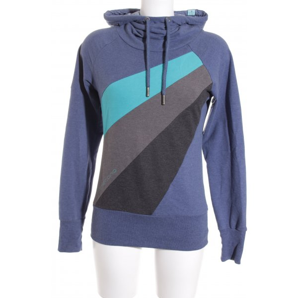 Naketano Kapuzensweatshirt Colourblocking sportlicher Stil