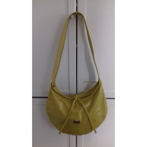Nannini Firenze Ledertasche Senffarbe Crossbody Bag