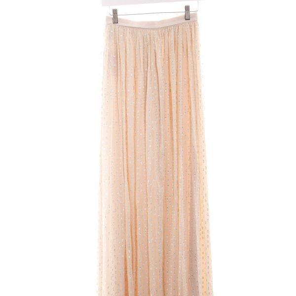 needle & thread Falda con volantes estampado a lunares elegante