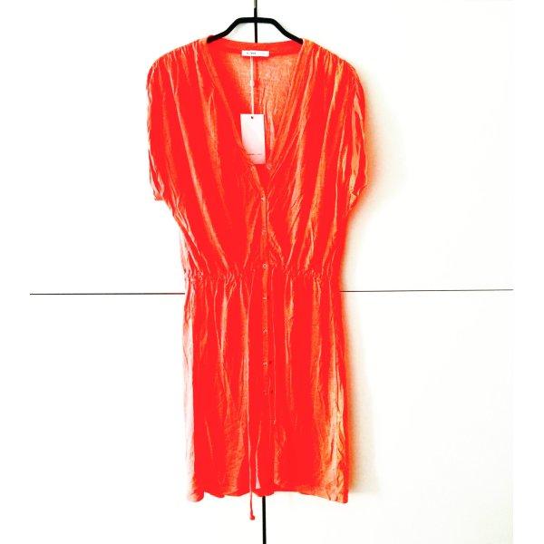 NEON kleid / orange vintage 90ies
