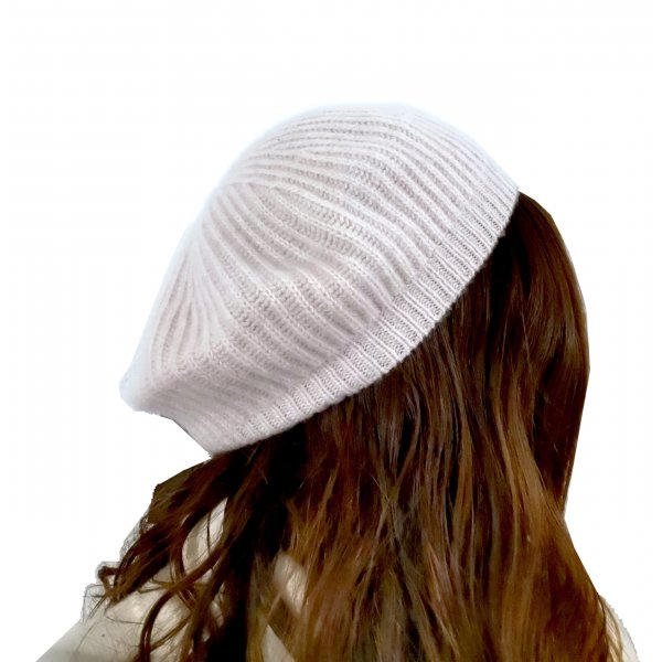 C&A Knitted Hat dusky pink