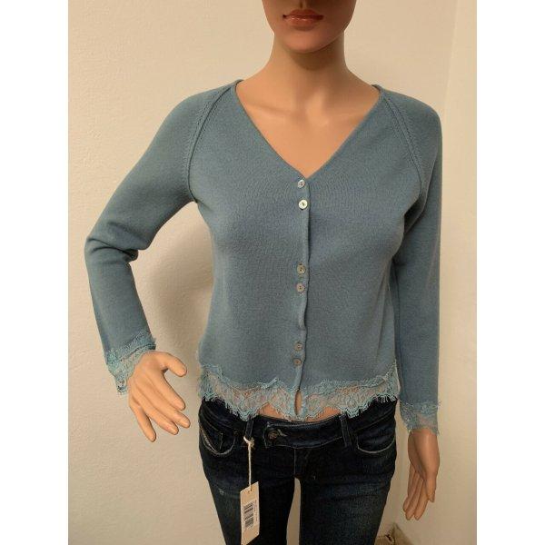 Neu 261€ Trussardi Wolle Pullover Spitze XS Wollpullover Pulli Designer Sweatshirt