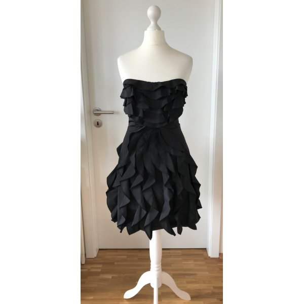 NEU Belle by Oasis Cocktail Kleid UK6 XS 32 34 LBD Kleines Schwarzes Abendkleid