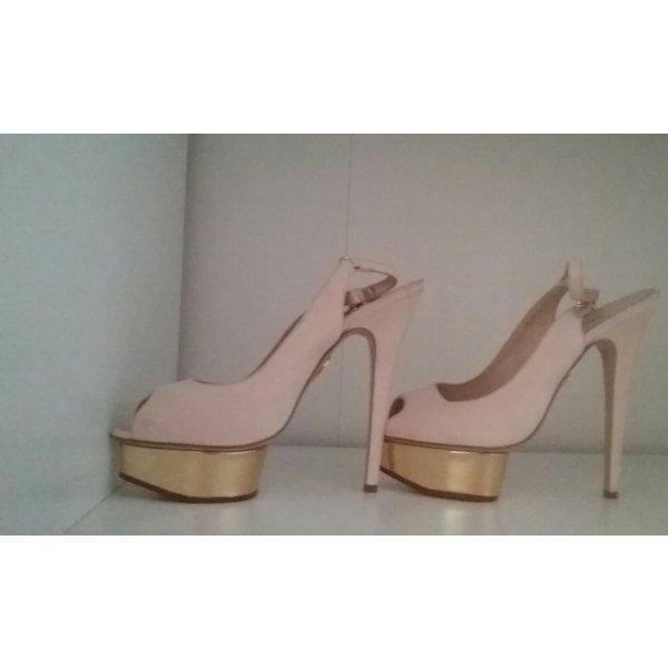 Charlotte Olympia High Heel Sandal multicolored