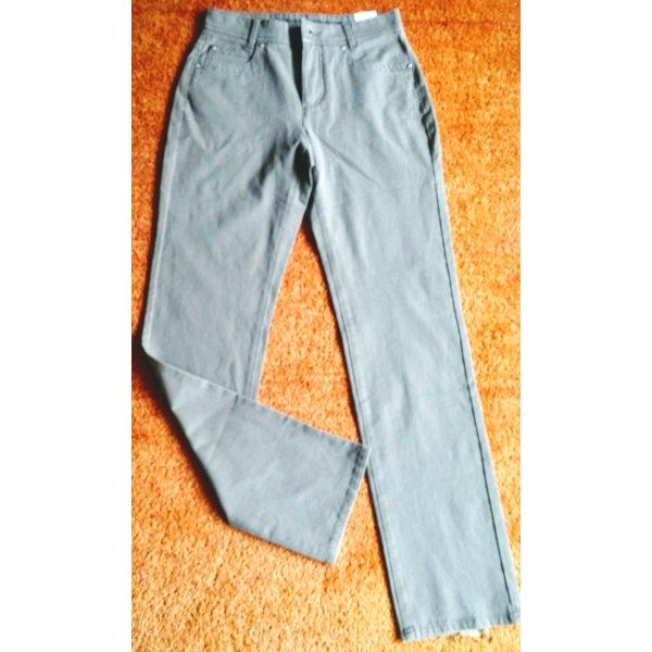 NEU Damen Hose Jeans Stretch Gr.34 in Taupe von Anna Montana