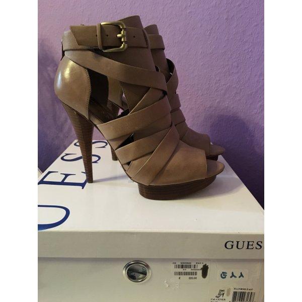 NEU! Guess HighHeel Sandale, beige/ nude, Gr. 37/38