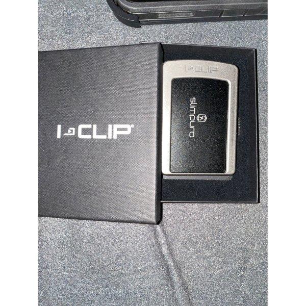 Neu I Clip Scheinbörse /Clip Onesize schwarz