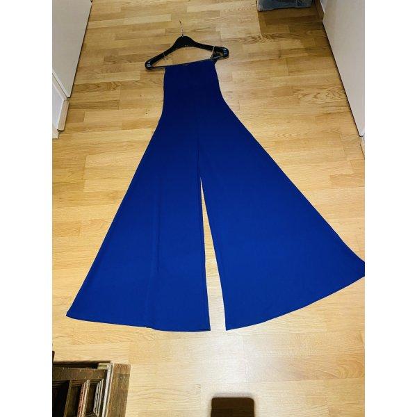 NEU Jumpsuit Royal Blau, Gr. XS-S, Wide Leg - elegant