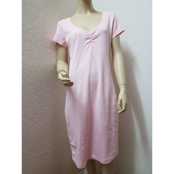 Neu! Lässiges T-shirt Kleid in rosa! Größe 38