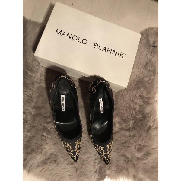 Neu! Manolo Blahnik Garance 105 Gr.41