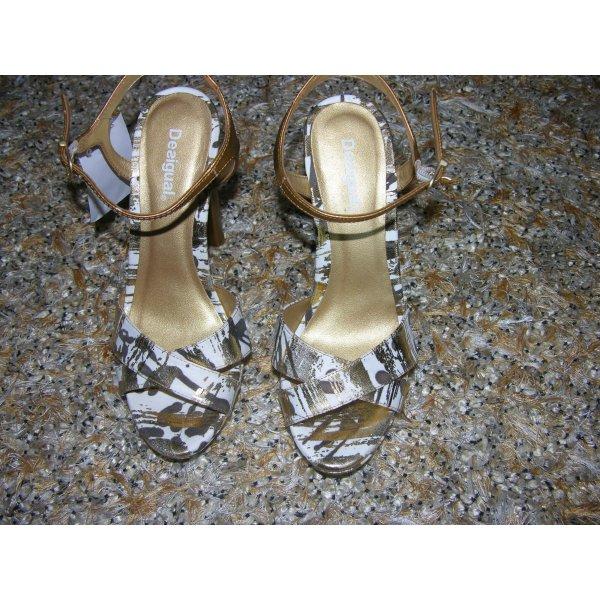 Neu mit Etikett! High Heels von Desigual in Bronze/Gold, Gr. 38