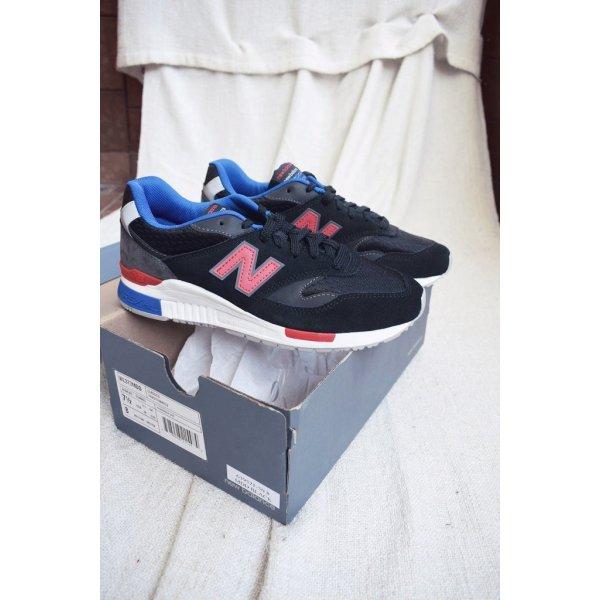 Neu! New Balance Sneaker ML 840 BB Schwarz Rot Blau