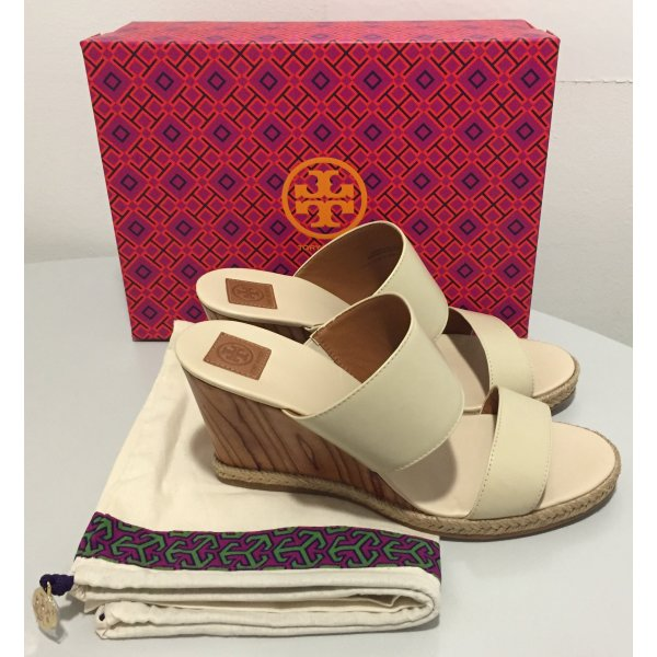 Tory Burch Wedge Sandals multicolored leather