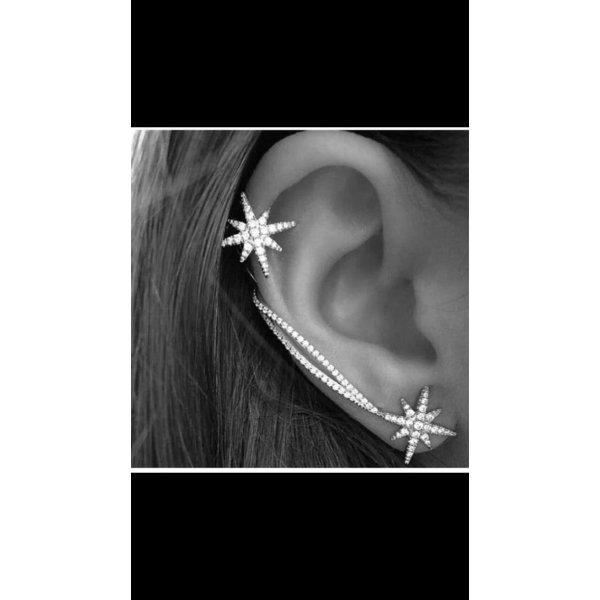 Neu! Ohrringe Ear-Cuff Ohrklemme Ohrstecker
