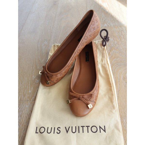 neu! Original Louis Vuitton monogram Debbie Ballerina Flats in 37 / Ballerinas