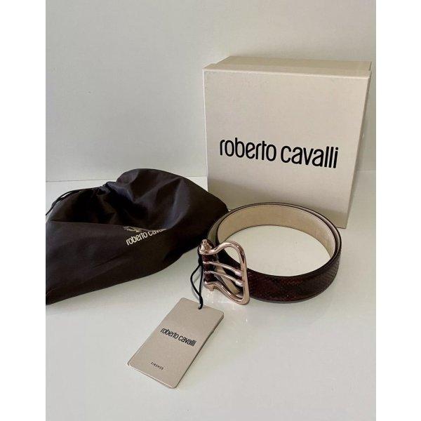 Roberto Cavalli Leather Belt brown