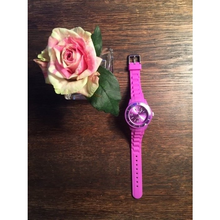 NEU rosa pinke Damenuhr / Armbanduhr NEU
