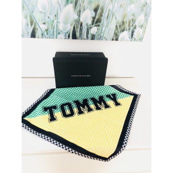 NEU Tuch Tommy Hilfiger statt 50 eur grün gelb